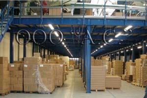 складское оборуование, Мезонин, многоуровневые стеллажи